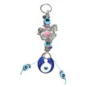 Evil Eye Horse Key Ring