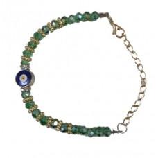 Evil Eye Swaroski Studded/Crystal Bracelet-I