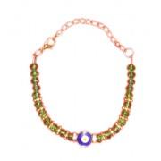 Evil Eye Swaroski Studded/Crystal Bracelet-II