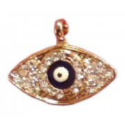Evil Eye Swaroski Studded Pendent - II