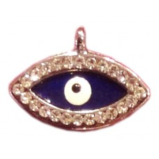 Evil Eye Swaroski Studded Pendent - III