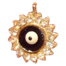 Evil Eye Swaroski Studded Pendent - IV