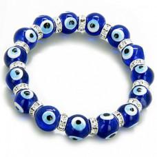 Evil Eye Swarovski Studded Bracelet