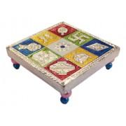 Multi Perpose Divine Chowki/Seat (Meenakari)