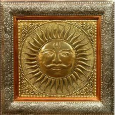 Wall Hanging Sun-S (Oxidized)