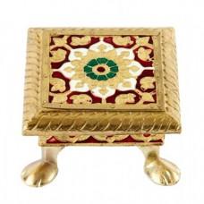 Golden Chowki / Seat- / Seat- 4''